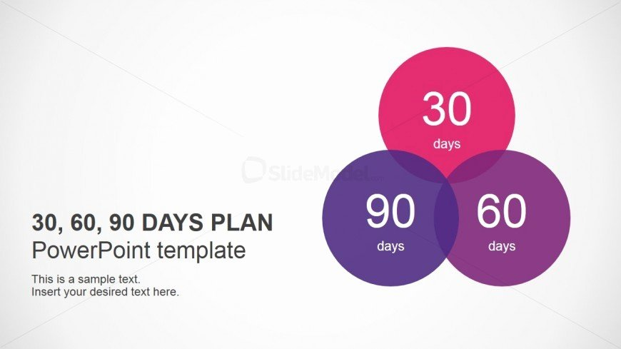 90 Day Review Template Beautiful Powerpoint Template for 30 60 90 Days Plan Slidemodel