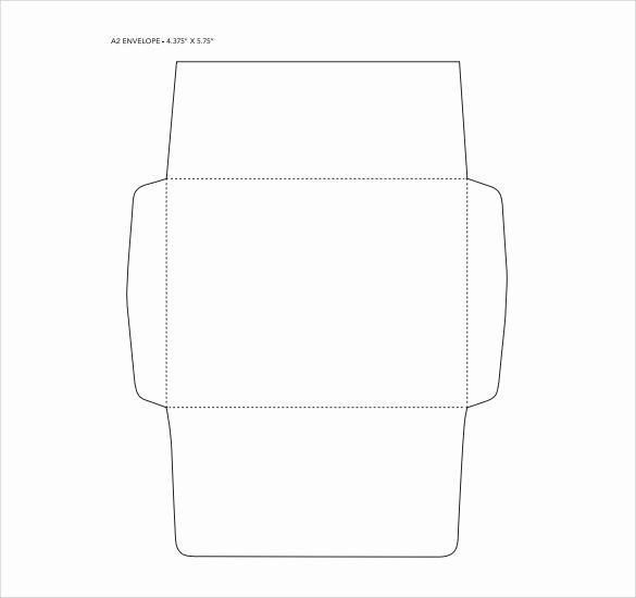 A2 Envelope Template Word Fresh 7 Sample A2 Envelopes