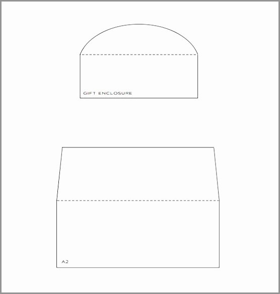 A2 Envelope Template Word Luxury Sample Envelope Liner Template 8 Free Documents In Pdf