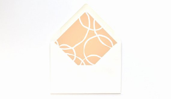 A7 Envelope Liner Template Beautiful Peach Circles Envelope Liner Template A7 Euro Flap Diy