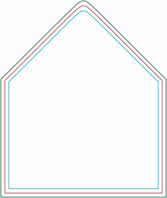 A7 Envelope Liner Template New A7 Envelope Template