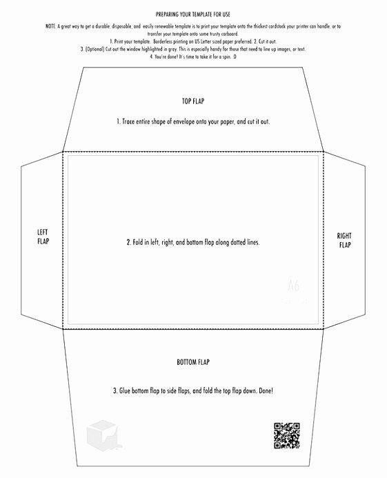 A7 Envelope Template Word Best Of 6 A7 Envelope Printing Template Doeeo
