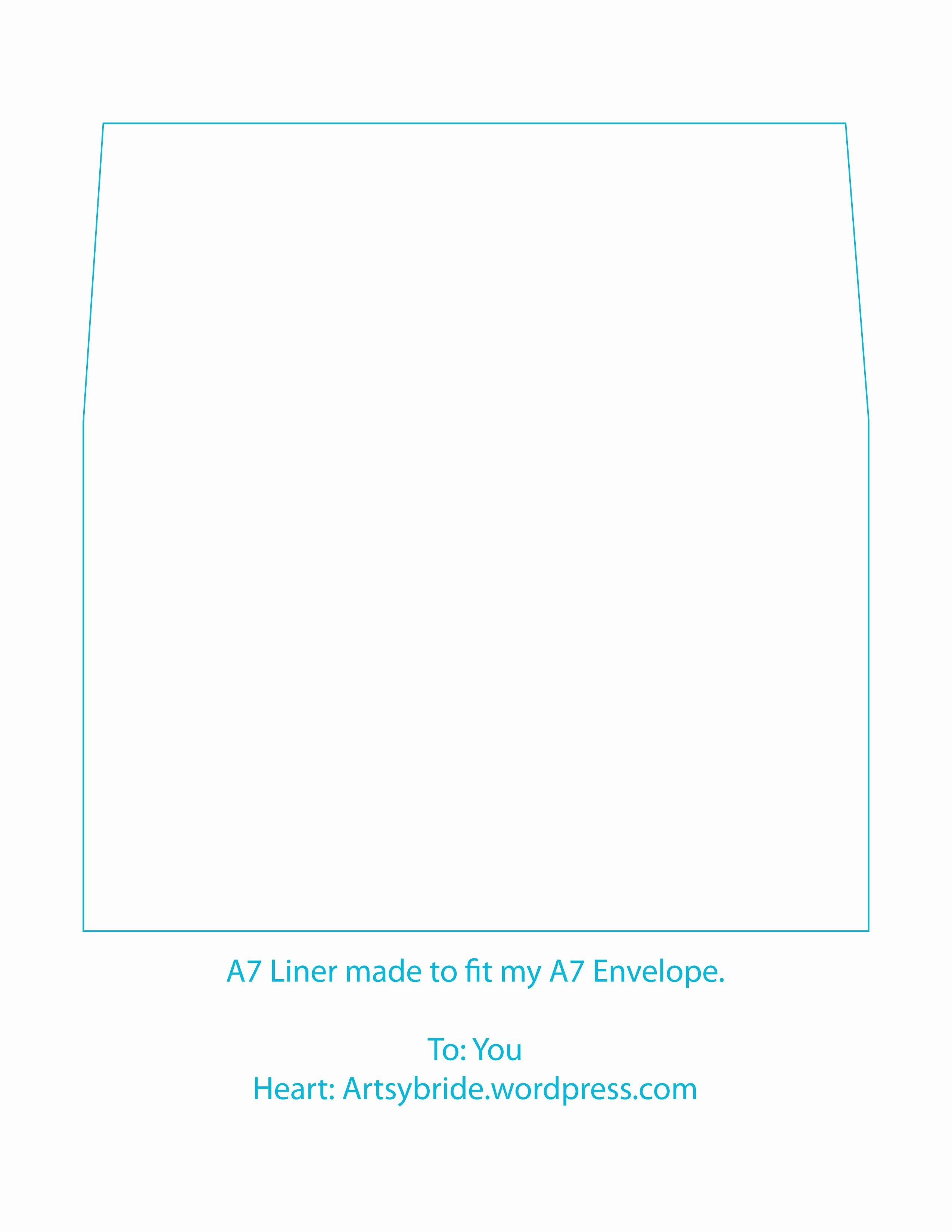 A7 Envelope Template Word New A Envelope Template Microsoft Word A Envelope Template