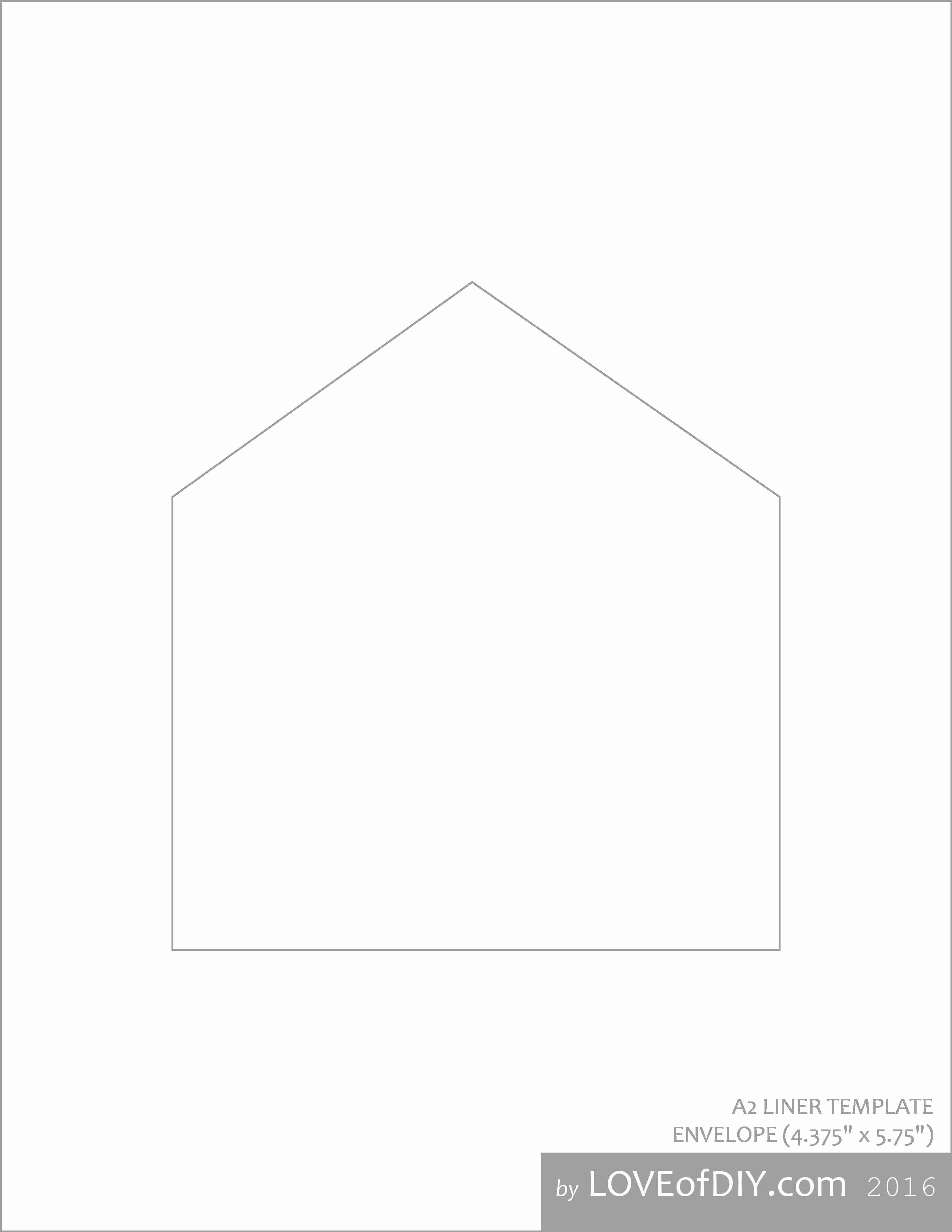 A7 Envelope Template Word New Best A7 Envelope Liner Template Download