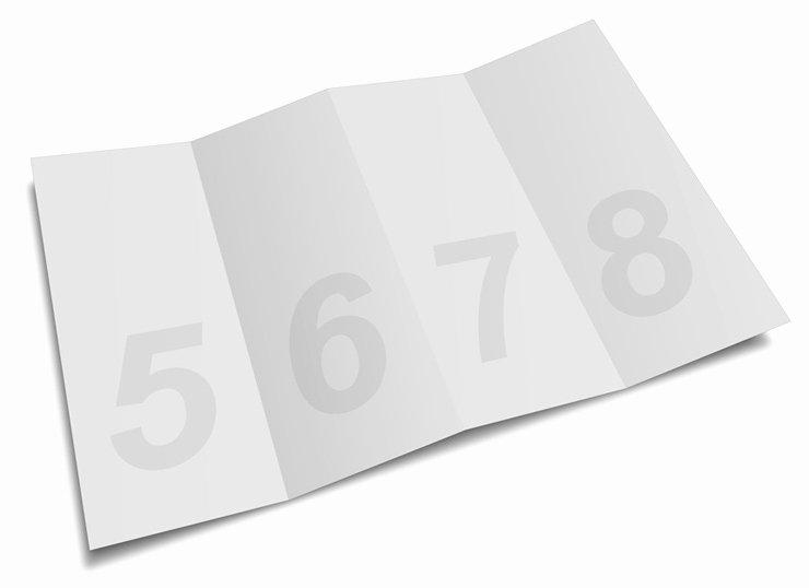 Accordion Fold Brochure Template Best Of 4 Panel Accordion Brochure Mock Up