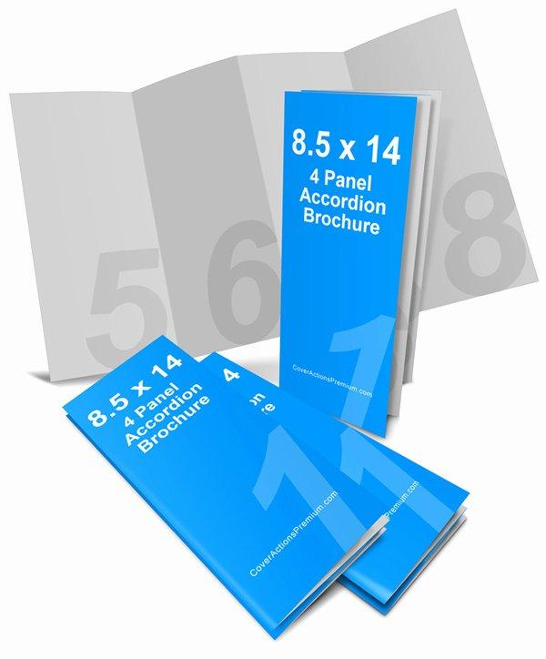 Accordion Fold Brochure Template Elegant 4 Panel Accordion Fold Brochure Mockup