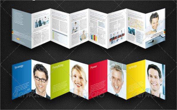 Accordion Fold Brochure Template Elegant 8 Accordion Fold Brochure Printable Psd Ai Indesign