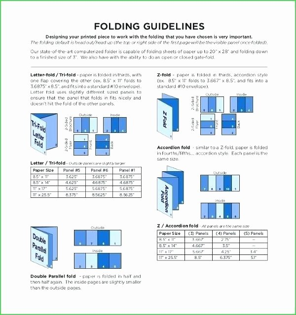 Accordion Fold Brochure Template Fresh Accordion Fold Brochure Template Indesign Accordion Fold