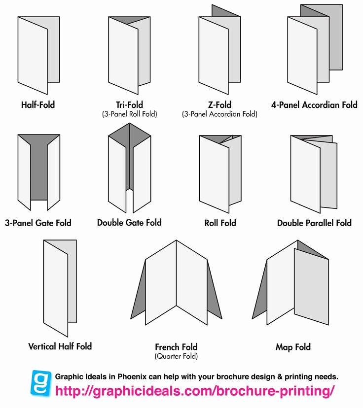 Accordion Fold Brochure Template Inspirational 1000 Images About Folding and Binding On Pinterest