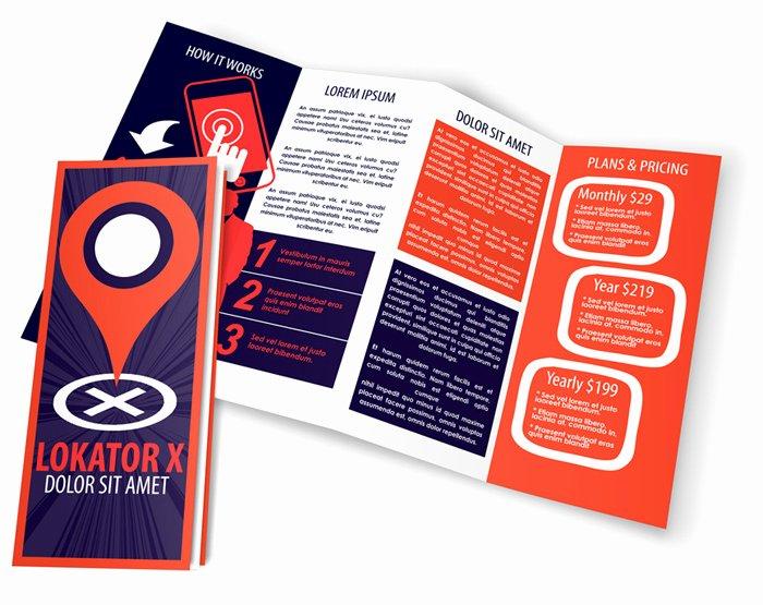 Accordion Fold Brochure Template Unique 4 Panel 14 X 8 5 Accordion Fold Brochure Mockup Set