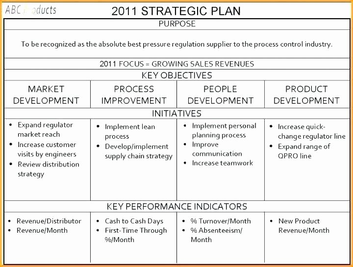 Account Management Plan Template Fresh A Sales Account Plan Template Sample New Key Xls
