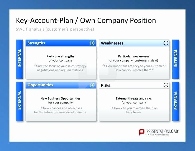 Account Management Plan Template Luxury Account Management Plan Template Strategic Key Planning