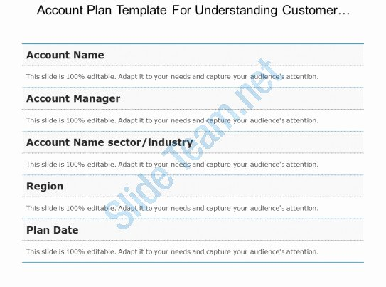 Account Plan Template Ppt Elegant Style Layered Vertical 5 Piece Powerpoint