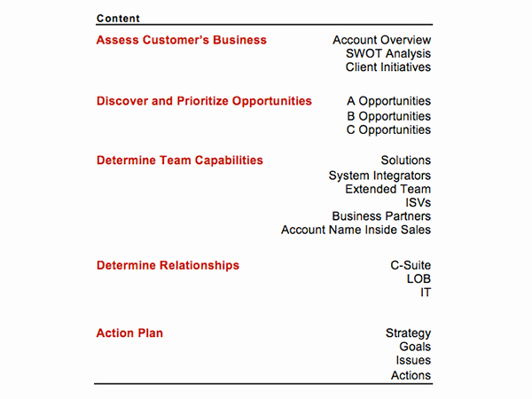 Account Plan Template Ppt New Strategic Account Plan Template