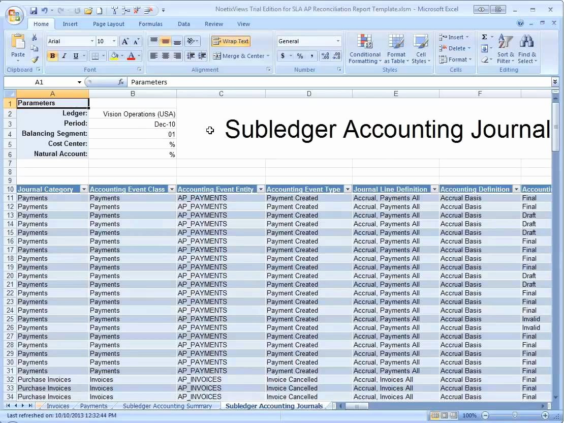 Account Reconciliation Template Excel Beautiful Accounting Reconciliation Templates