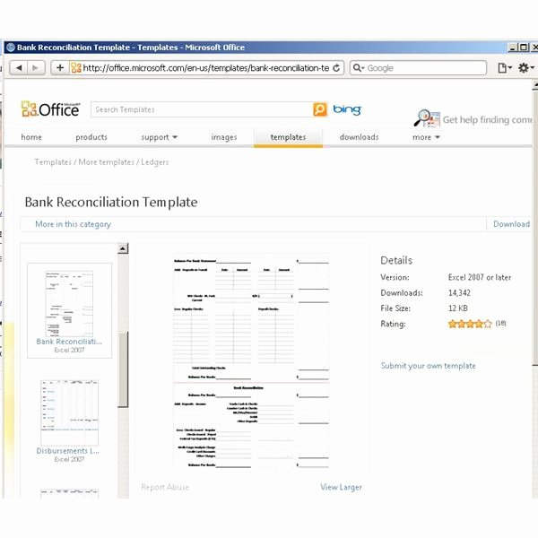 Account Reconciliation Template Excel Best Of Use A Microsoft Excel Reconciliation Template to Help Your