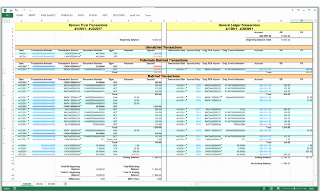 microsoft dynamics gp 2013 reconcile bank reconciliation to the general ledger