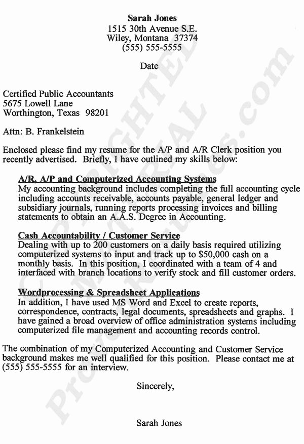 Accounting Cover Letter Template Lovely Accountant Lamp Picture Accountant Cover Letter