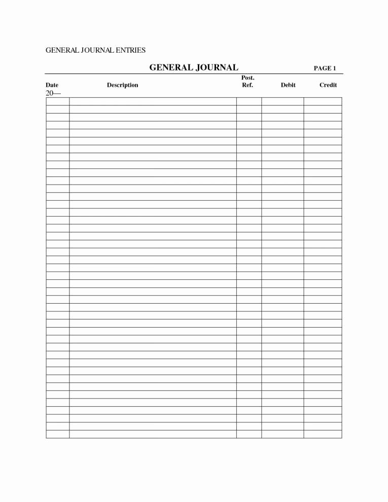 Accounting Journal Entries Template Luxury Double Entry Accounting Spreadsheet