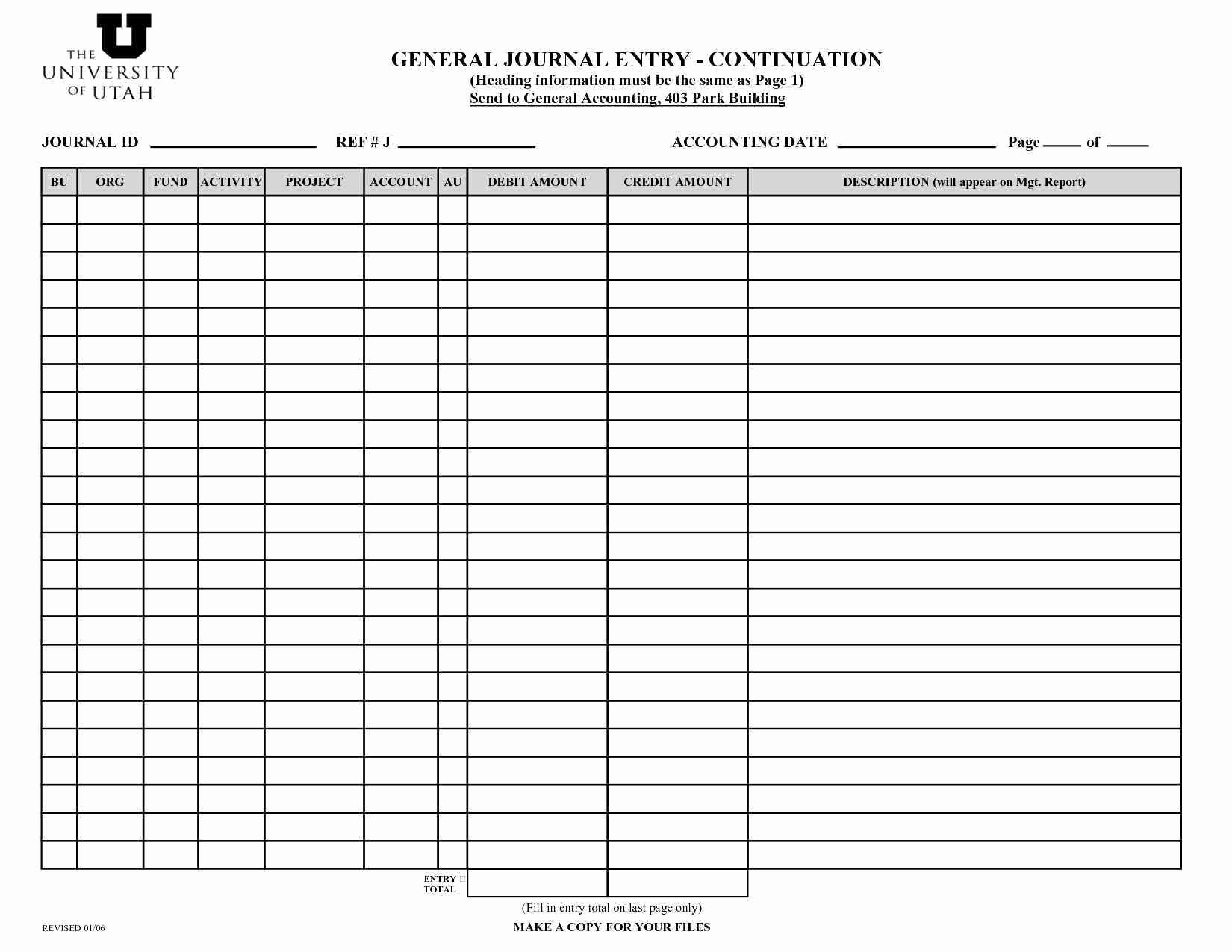 Accounting Journal Entry Template Fresh Outstanding Accounting Journal Entry Template Sketch