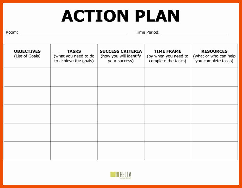 Action Plan Template Education Beautiful 6 7 Action Plan Example