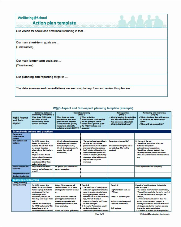 Action Plan Template Pdf Fresh Project Action Plan Template 16 Free Word Excel Pdf