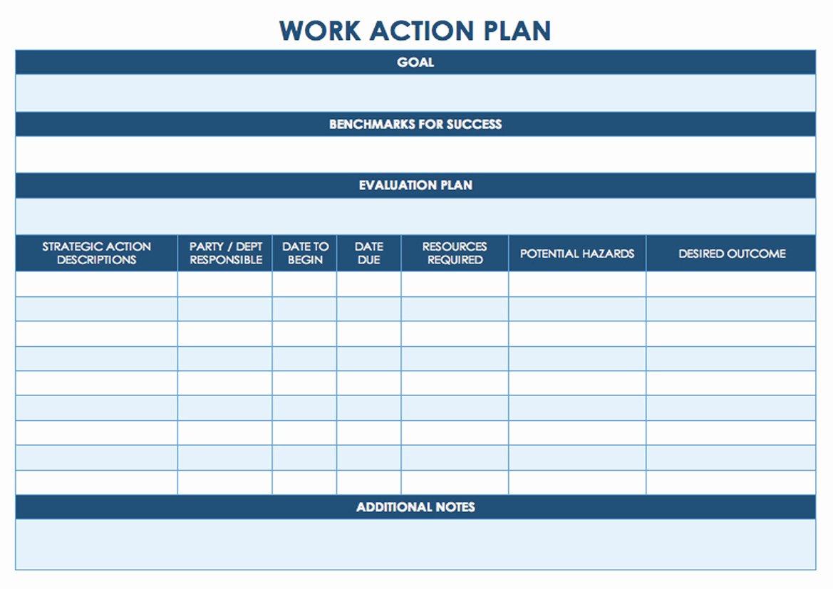 Action Plan Template Pdf Luxury Task Management Template Worksheet Calendar Printable