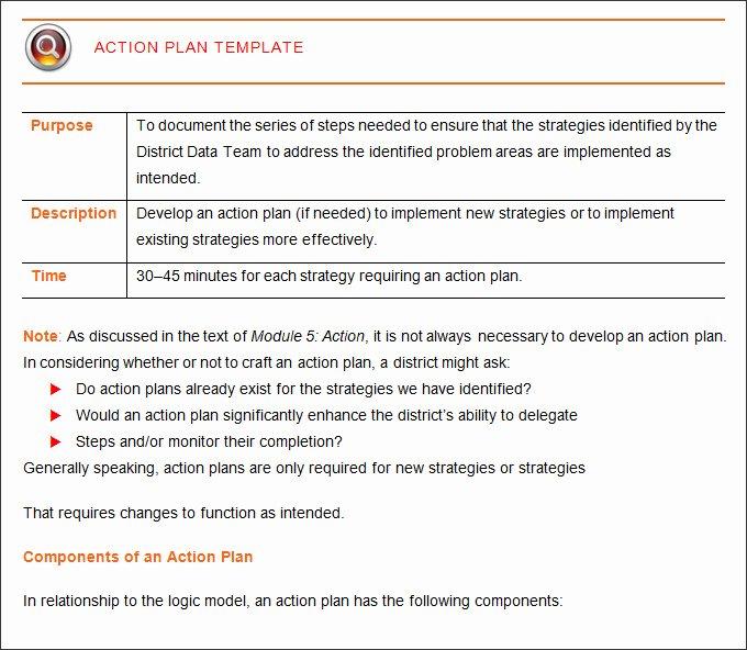 Action Plan Template Word Beautiful Corrective Action Plan Template 25 Free Word Excel Pdf