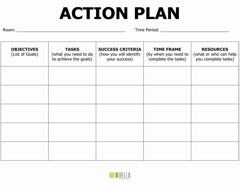 Action Plan Template Word Luxury 8 Action Plan Templates Excel Pdf formats