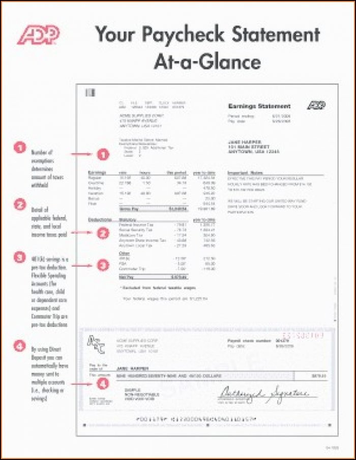 Adp Earnings Statement Template Inspirational Fake Bank Statement Template Excel Template 1 Resume