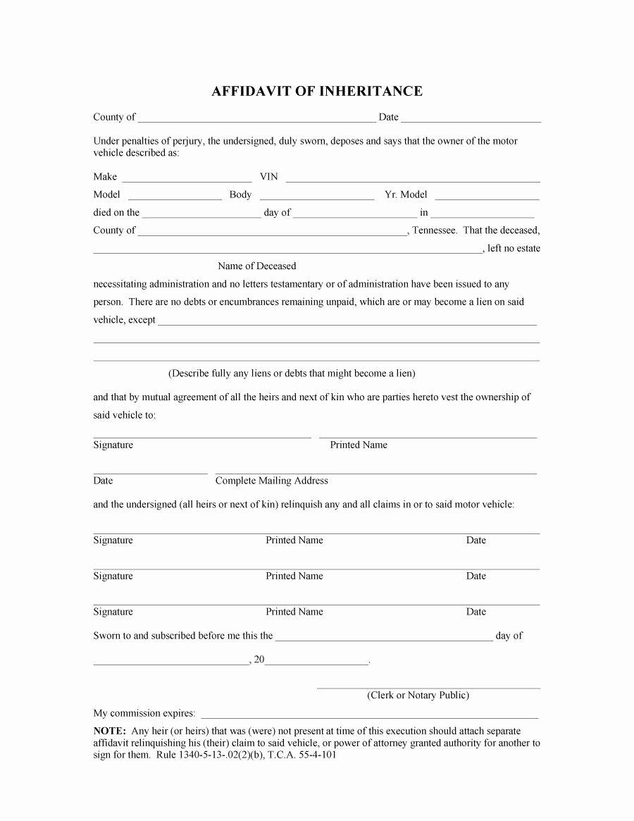 Affidavit Of Support Template New 48 Sample Affidavit forms & Templates Affidavit Of