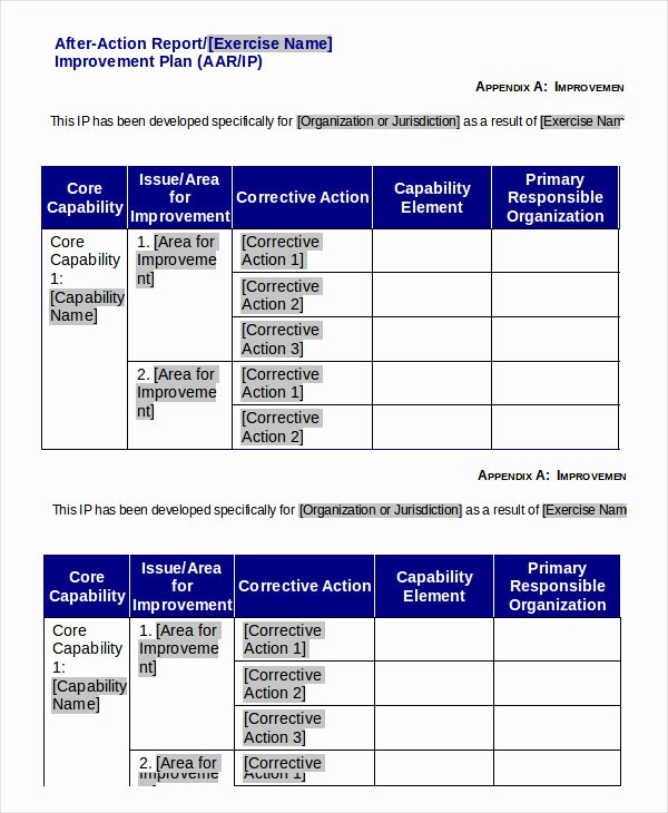 After Action Report Template Awesome after Action Report Template 14 Free Word Pdf Apple