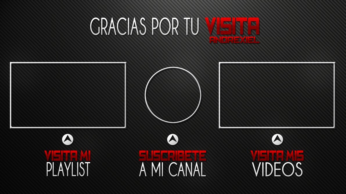 After Effect Outro Template Beautiful Free Outro Template by andrexiel On Deviantart