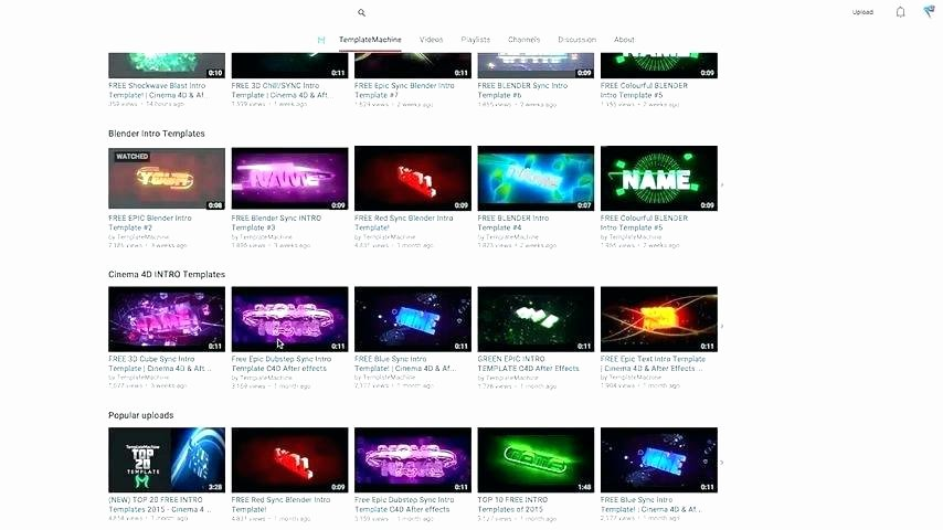 After Effect Outro Template New top Free Blender Intro Templates Download Free Adobe after