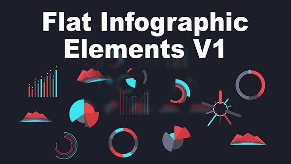 After Effects Infographic Template Beautiful Flat Infographic Elements V1 by Patternprocess
