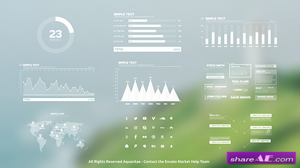 After Effects Infographic Template Elegant Infographics Free after Effects Templates