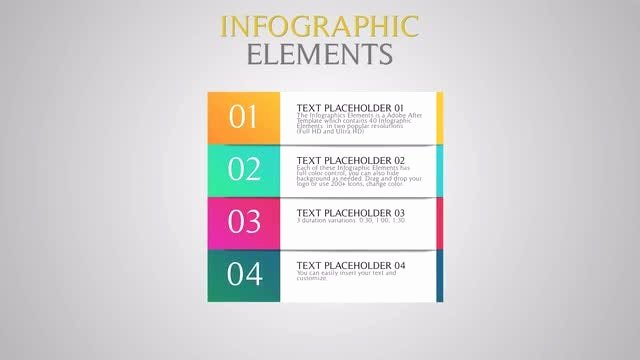 After Effects Infographic Template Fresh Infographic Elements after Effects Templates