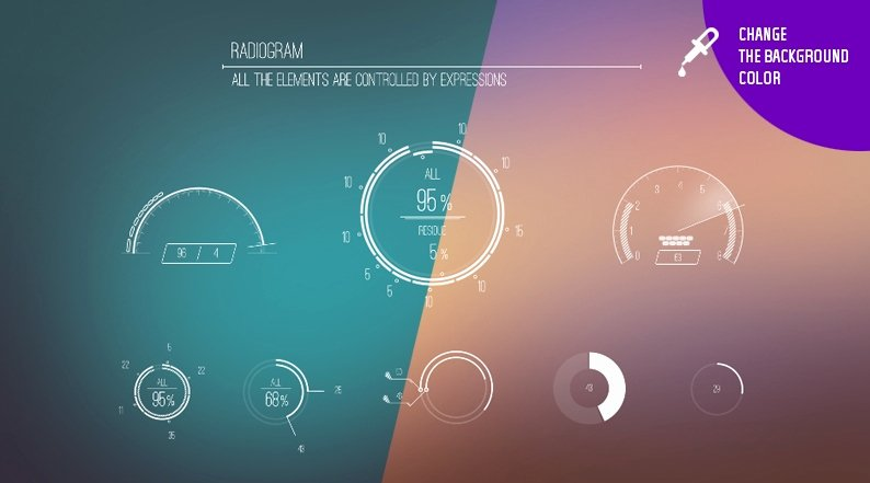 After Effects Infographic Template Luxury Videohive Infographics Hud Ae Project Free after