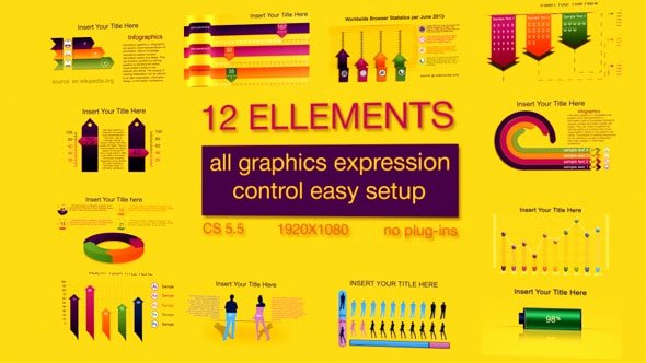 After Effects Infographic Template New Best after Effects Infographic Templates 56pixels