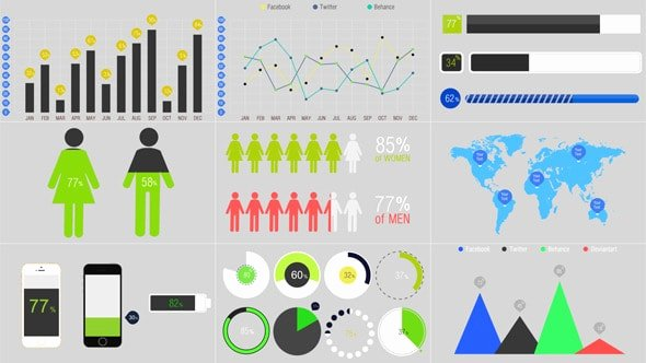 After Effects Infographic Template New Best after Effects Infographic Templates