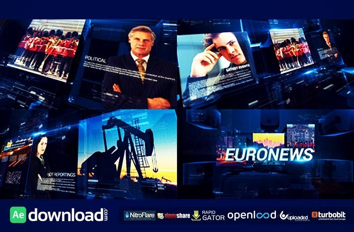 tv broadcast news packages videohive free template