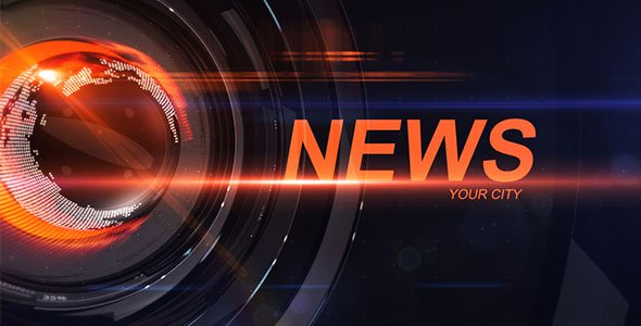 After Effects News Template Elegant News Intro News after Effects Templates