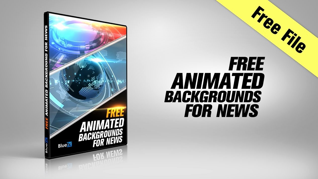 After Effects News Template Fresh Free after Effects Template 3 Animated Backgrounds for