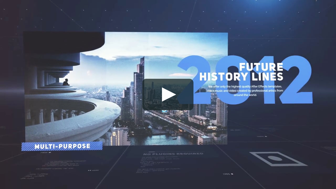 After Effects Timeline Template Best Of after Effects Template Timeline On Vimeo