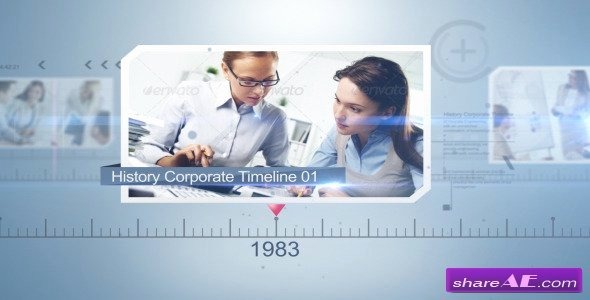 After Effects Timeline Template Inspirational Videohive History Corporate Timeline Free after Effects
