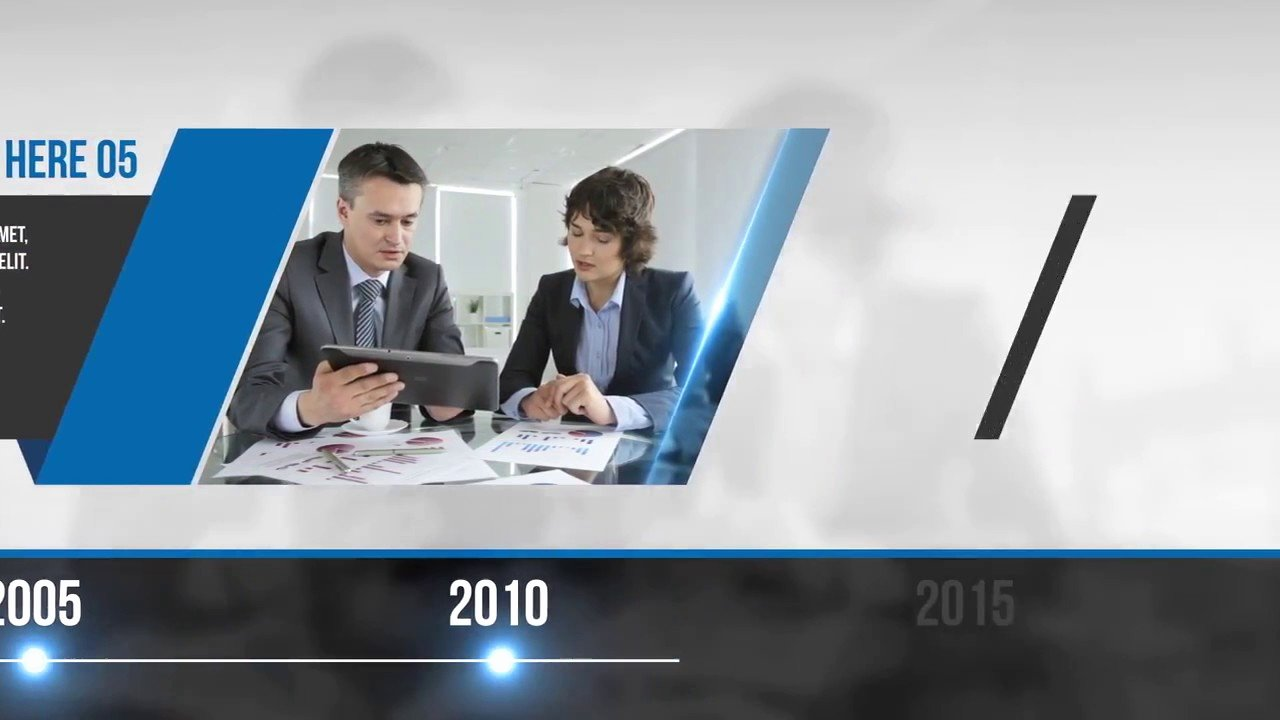 After Effects Timeline Template Lovely Corporate Profile Timeline after Effects Templates