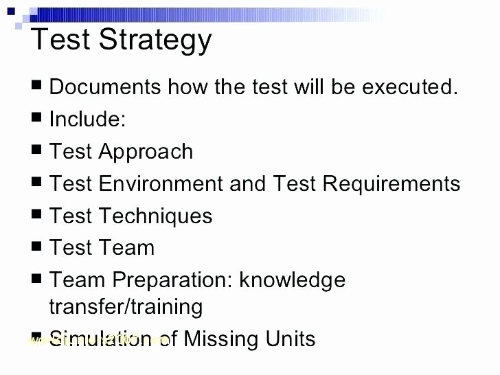 Agile Test Strategy Template Awesome Usability Test Plan Template Agile Test Strategy Template