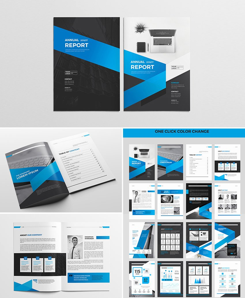 Annual Financial Report Template Beautiful 15 Annual Report Templates with Awesome Indesign Layouts
