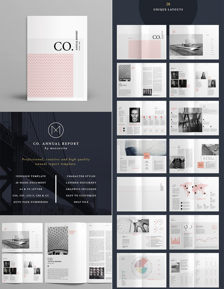 Annual Financial Report Template Best Of 15 Annual Report Templates with Awesome Indesign Layouts