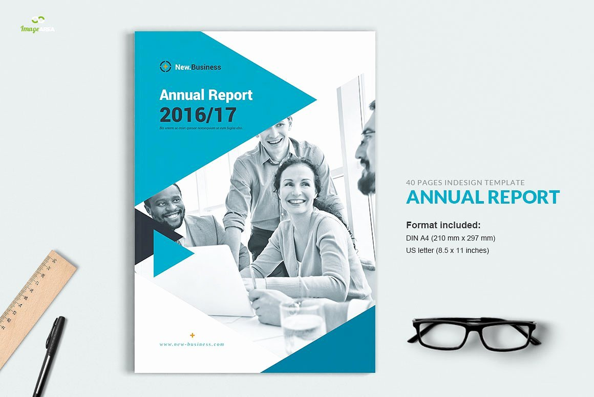 Annual Financial Report Template Best Of Annual Report 40 Pages Brochure Templates Creative